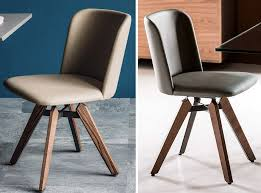 Leather Swivel Dining Chairs Mulan Swivel Dining Chair By Cattelan Italia 1 095 00 In