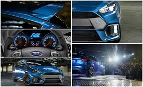 ford focus automatic price 15 things you need to about the 2016 ford focus rs