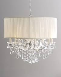 Shades For Chandeliers Picturesque Chandelier With Drum Shade At Crystals
