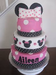 minnie mouse baby shower cakes best inspiration from kennebecjetboat
