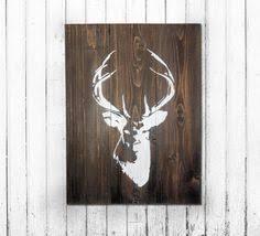 deer wood wall 22 deer wood wall hanging deer stencil reclaimed wood deer