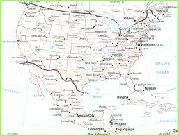 Mexico States Map by Usa And Mexico Map Beauteous Of Mexico Showing States