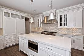 nice grey and white kitchen backsplash and grey and white marble