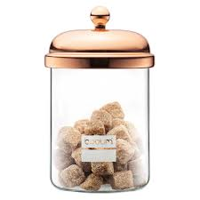 cuisine bodum bodum chambord copper storage jar 500ml s of
