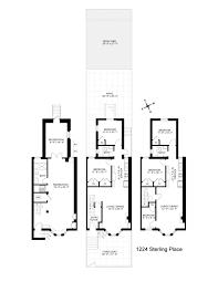 Brooklyn Brownstone Floor Plans by Charismatic Crown Heights Brownstone With Exposed Beams Brick