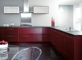 gloss kitchen cabinets high gloss red kitchen doors home design