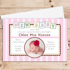 announcement cards personalised birth announcement cards baby announcement cards