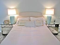 classy use bright bedside table lamps on oak nightstands inside