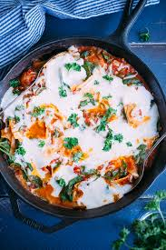 Lasagna Recipe Cottage Cheese by Healthier One Pan Stove Top Lasagna Stove Top Lasagna Cottage