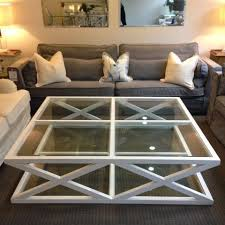 large glass coffee table cambridge glass cross coffee table large french and english