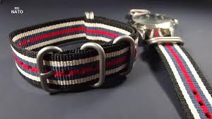 bracelet montre images Bracelet montre nato en 20mm JPG