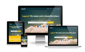 legend free responsive one page template preview http