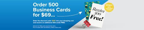 500 Business Cards For Free Business Card Printing 1print