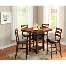 dining room family room furniture cherry dining table leather