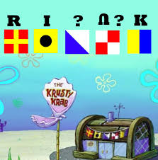Nautical Code Flags The Voice Of Vexillology Flags U0026 Heraldry The Krusty Krab Flags