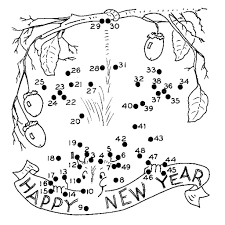new year coloring pages 3 coloring kids in new years color