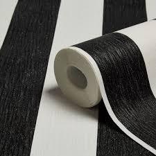 Black And White Striped Wallpaper by Graham U0026 Brown Julien Macdonald Black U0026 White Stripe Wallpaper