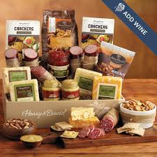 meat and cheese gift baskets ultimate meat and cheese gift box with acacia board harry