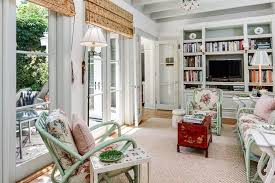 Roman Shade For French Door - tailored classic in palm beach u2014 the foo dog blog