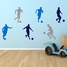 boys wall stickers all about football boys wall stickers mirrorin notonthehighstreet com