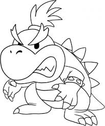 baby mario bros coloring pages coloring home