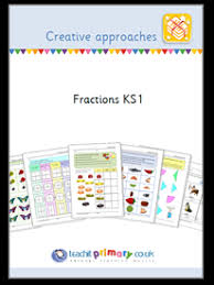creative approaches u2013 fractions ks1 teachit primary