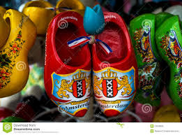 wooden shoes or clogs klompen in amsterdam the netherlands
