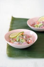 cuisine tahitienne traditionnelle recette poisson cru à la tahitienne traditionnel 750g
