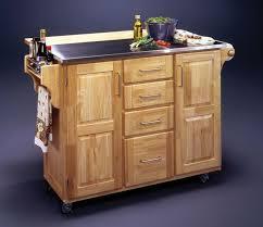 steel top kitchen island furniture kitchen awesome look of kitchen islands on wheels