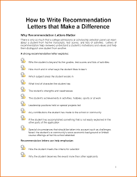 5 how to write a letter of recommendation for scholarship