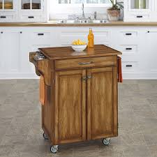 amazon com home styles cuisine cart warm oak finish with oak