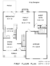 cottage grove 2 house plans home building designers collection