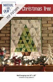 o u0027christmas tree pdf pattern trees modern christmas and scrap