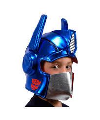transformers halloween costumes transformers optimus prime plush boys helmet boys costumes
