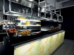 bar counter glass l shaped illuminated zerodieci
