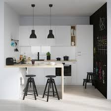 s駱arer la cuisine du salon meuble separation cuisine salon decoration gris et blanc pour