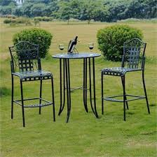 Wicker Bistro Table And Chairs Tall Patio Bistro Set Gccourt House