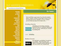 wedding vendor websites wedding websites archives ewedding