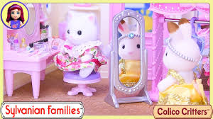 Calico Critters Play Table by Sylvanian Families Calico Critters Boutique Dressing Up Cosmetics