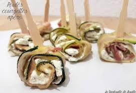 canap ap itif dinatoire roulés de courgettes lard et fromage ail et fines herbes pour l