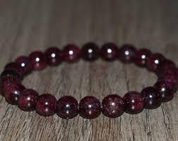 garnet bracelet images Garnet bracelet etsy jpg