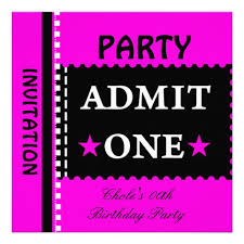 birthday invitation for teenager party invitations for teenagers