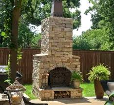 free standing outdoor fireplace free standing deck fireplaces