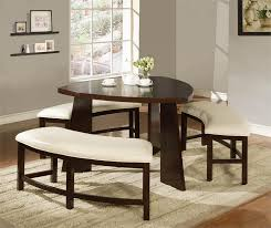 dining room sets with bench stunning design triangle dining table with bench ideas triangular