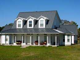Grey House Colors Roofing Tin Roofing For Amazing Roofing Projects Ideas
