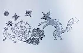Musterk Hen Lea Grötzinger Illustration
