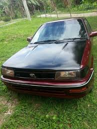 toyota old cars toyota corolla flatty for sale in oracabessa st mary st mary for