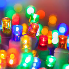 5mm multi color led lights white wire