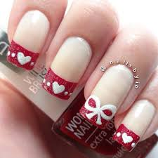 simple valentine nail designs how you can do it at home
