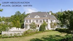 Traditional European Houses European Luxury Mansion For Sale In Atlanta Georgia 2 Acres